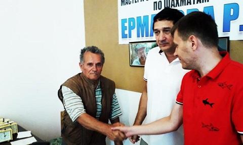 Каменчанин победил на шахматном мемориале памяти Р.Ермакова Днепродзержинск