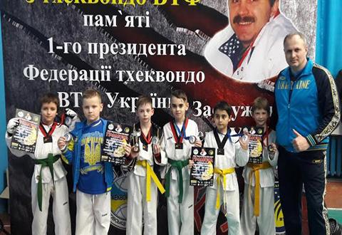На мемориальном турнире И.Петренка представители г. Каменское получили медали Днепродзержинск