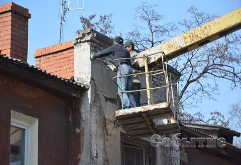 Фасады в Каменском станут безопаснее Днепродзержинск