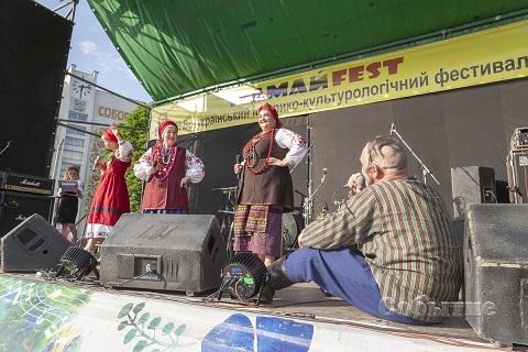 В г. Каменское прошло торжественное открытие «Мамай-fest» Днепродзержинск