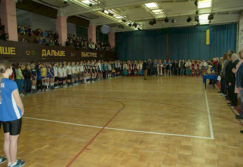 В Каменском на волейбольный турнир собрались представители трех областей Украины Днепродзержинск