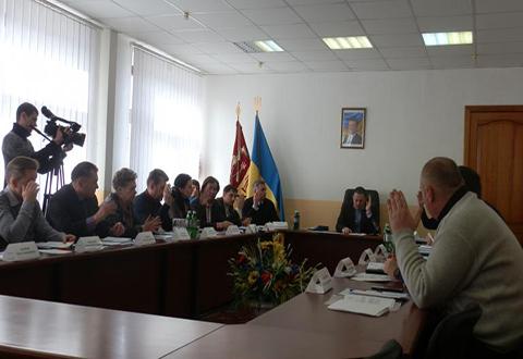 Исполком Каменского провел заседание с награждением каменчан  Днепродзержинск