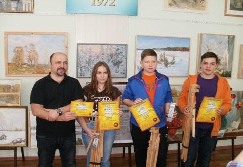 Начинающие художники из г. Каменское стали победителями конкурса Днепродзержинск