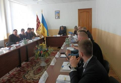 В Каменском провели заседание горисполкома Днепродзержинск