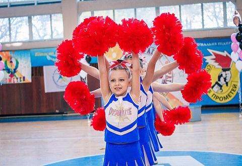 В Каменском черлидеры соревновались на кубке «Прометея» и первенстве города Днепродзержинск
