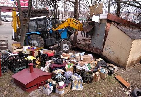 Территорию Каменского освободили от очередной «разливайки» Днепродзержинск