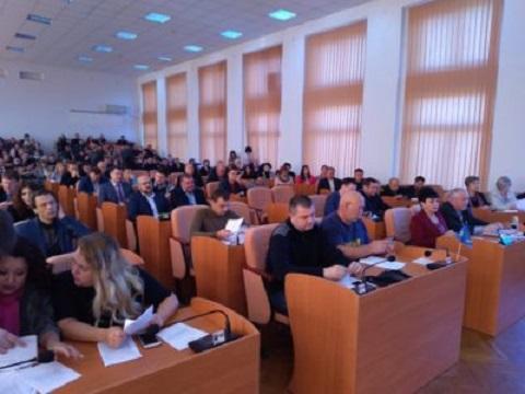 Депутаты г. Каменское приняли Кодекс этики на заседании 29-й сессии горсовета Днепродзержинск