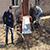 В поселке Романково города Каменское для инвалида сделали пандус
