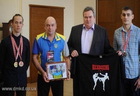 Кикбоксеры Каменского завоевали три медали Чемпионата мира Днепродзержинск