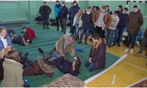 Студентов ДГТУ г. Каменское обучали навыкам предоставления первичной помощи пострадавшим Днепродзержинск