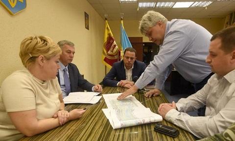 О реконструкции Левобережного парка говорили в Каменском  Днепродзержинск
