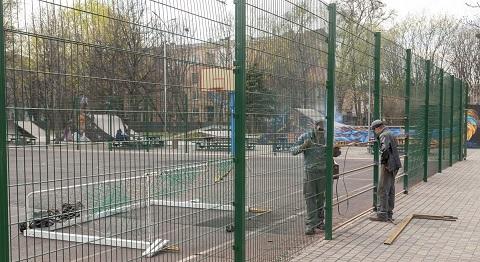 Парк отдыха г. Каменское ведет подготовку к открытию сезона Днепродзержинск