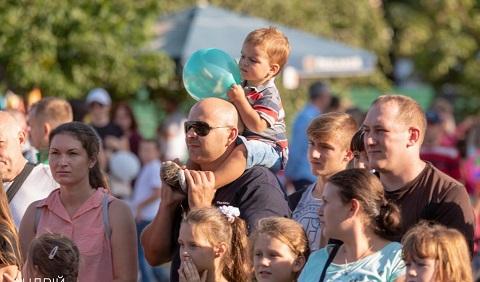 День города отметили в Южном районе Каменского Днепродзержинск