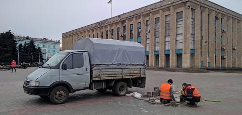 Патруль по благоустройству решает проблемные вопросы в городе Каменское Днепродзержинск