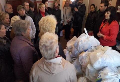 В Каменском провели встречи с ликвидаторами аварии на ЧАЭС Днепродзержинск