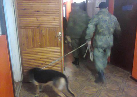 Под Каменским прошло ложное «минирование» сельсовета Днепродзержинск