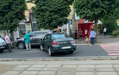 В Каменском на проспекте Свободы произошло ДТП  Днепродзержинск