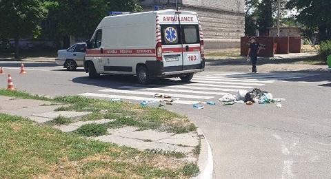На Гимназическом проспекте г.Каменское сбили пешехода Днепродзержинск