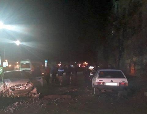 Возле заправки «ОККО» в г. Каменское произошло ДТП Днепродзержинск