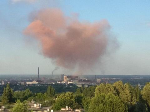 На «ДМК» города Каменское ликвидировали причину выброса в конвертерном цехе Днепродзержинск