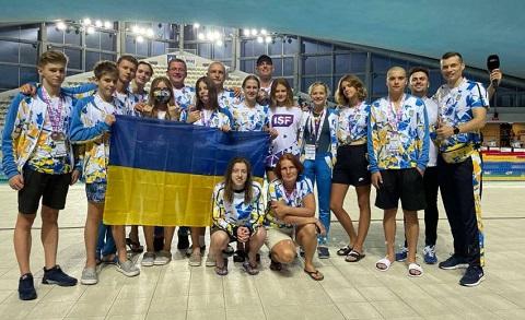 Каменские пловцы завоевали первые награды ВУСИ Днепродзержинск