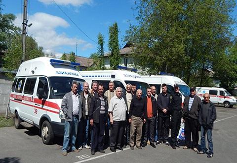 Полиция г. Каменское провела с водителями «Скорой помощи» профилактическую работу Днепродзержинск