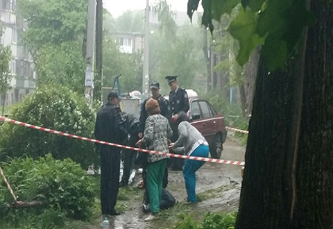 Полиция Каменского задержала за нападение на таксиста 2-х мужчин (видео 18+) Днепродзержинск