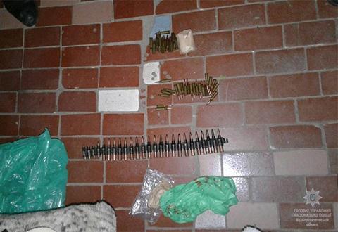 Полиция Каменского изъяла у местного жителя боеприпасы Днепродзержинск