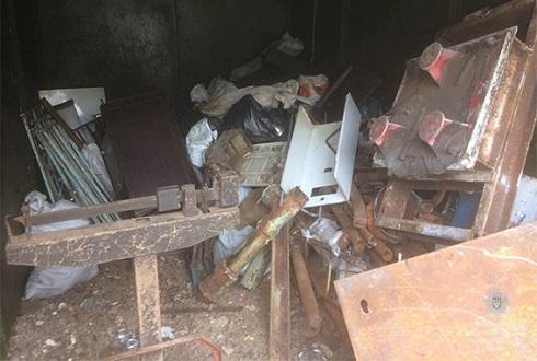 Полиция Каменского изъяла незаконный металлолом Днепродзержинск