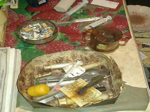 В квартире Каменского полиция выявила наркопритон Днепродзержинск