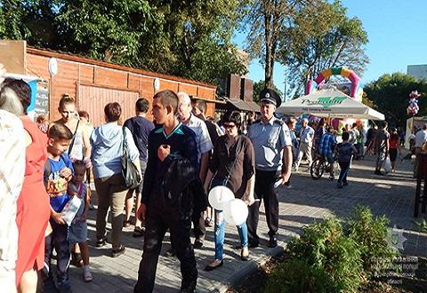 Грубых нарушений порядка в Каменском на День города не зафиксировали Днепродзержинск