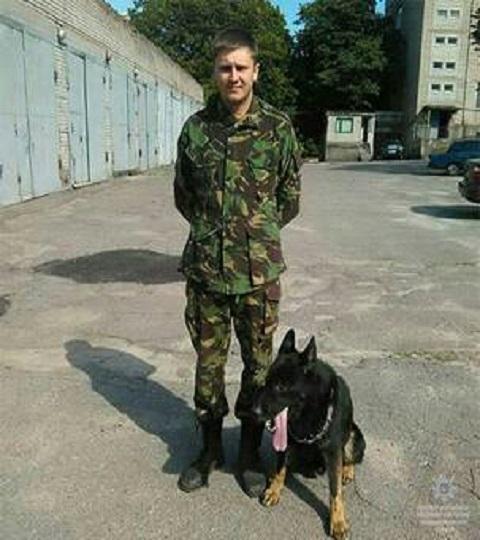 Служебная собака отдела полиции Каменского помогла найти убийцу Днепродзержинск