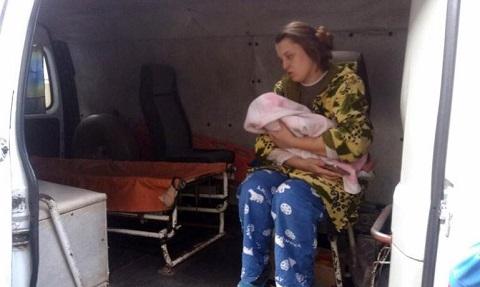 В Южном районе Каменского спасли на пожаре женщину с ребенком Днепродзержинск