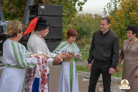 В Каменском казака Семена Карнауха вспоминали Днепродзержинск