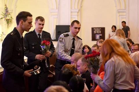 Правоохранителей г. Каменское поздравили с Днем Национальной полиции Днепродзержинск