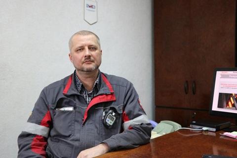 На ДМК г. Каменское проводят модернизацию системы освещения  Днепродзержинск