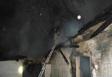 НаДнепропетровщине был пожар, погибли два человека