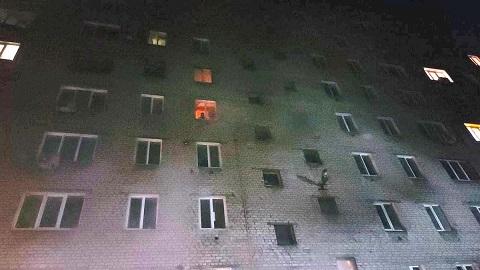 В многоэтажке г. Каменское ликвидировали пожар Днепродзержинск