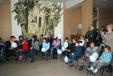 В Каменском музыкальном колледже организовали праздник для детей Днепродзержинск