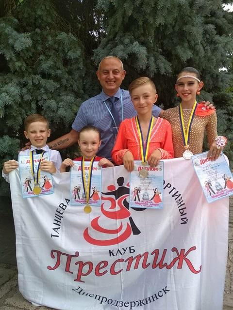Каменский «Престиж» подвел итоги танцевального сезона Днепродзержинск