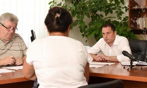 Мэр г. Каменское провел личный прием граждан Днепродзержинск