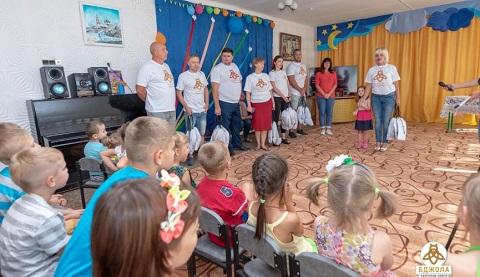 В Центре социально-психологической реабилитации г. Каменское побывали гости Днепродзержинск