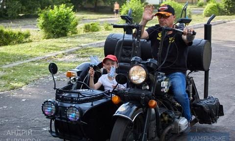 Мэр г. Каменское и байкеры провели ежегодную акцию Днепродзержинск