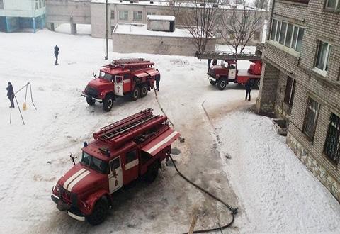 Дважды за один день горели шахты лифта в доме Каменского Днепродзержинск