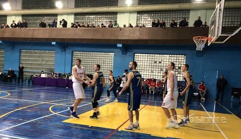 БК «Прометей» г. Каменское одержал победу в матче Высшей лиги Днепродзержинск