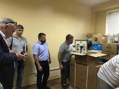 В Каменском провели выездное совещание на бывшем ПХЗ Днепродзержинск