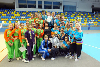 Днепродзержинцы снова завоевали медали Днепродзержинск