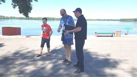 Каменские спасатели провели рейды по предупреждению населения  Днепродзержинск