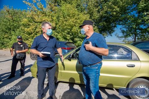 В Каменском комиссия провела проверку информации о работе предприятия «Рокобан» Днепродзержинск
