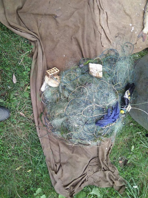 Рейдовая группа на Каменском водохранилище задержала браконьера Днепродзержинск